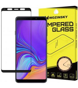 """Juodas apsauginis grūdintas stiklas Samsung Galaxy A9 2018 telefonui """"Wozinsky Full Glue"""""""