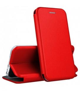 """Dėklas """"Book Elegance"""" Samsung G975 S10 Plus raudonas"""