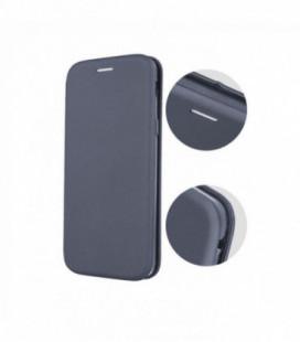 """Juodas atverčiamas dėklas Huawei Y6 2019 telefonui """"Dux Ducis Skin"""""""