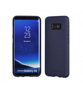 """Dėklas Mercury Goospery """"Soft Jelly Case"""" Samsung A405 A40 tamsiai mėlynas"""