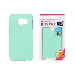 """Mėtos spalvos dėklas Mercury Goospery """"Jelly Case"""" Samsung Galaxy S6 telefonui"""