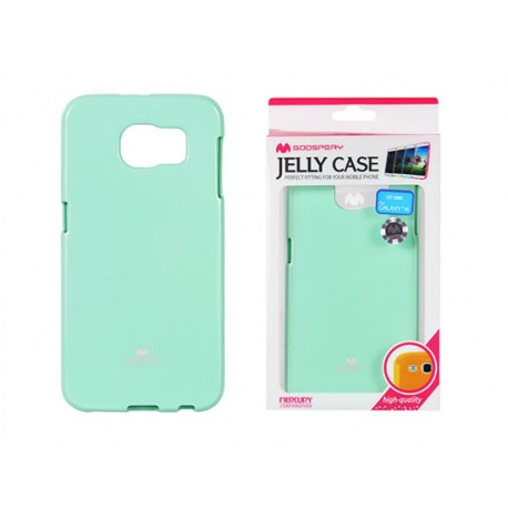 """Mėtos spalvos dėklas Mercury Goospery """"Jelly Case"""" Samsung Galaxy S6 G920 telefonui"""
