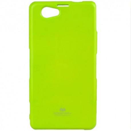 """Žalias dėklas Mercury Goospery """"Jelly Case"""" Sony Xperia Z1 Compact telefonui"""