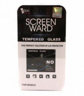 """LCD apsauginis stikliukas """"Adpo 3D"""" Samsung J330 J3 2017 lenktas skaidrus"""