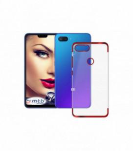 Dėklas Elegance TPU Xiaomi Redmi 7 raudonas