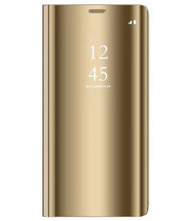 """Dėklas """"Sview"""" Samsung A320 A3 2017 auksinis"""