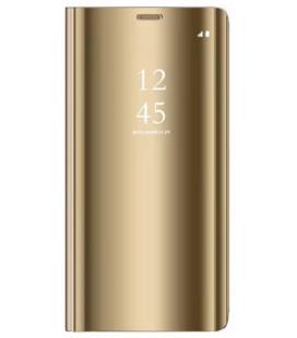 """Dėklas """"Sview"""" Samsung A505 A50 auksinis"""