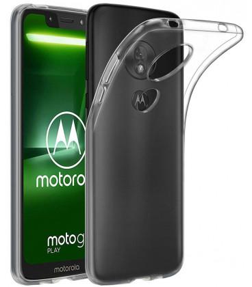 """Skaidrus silikoninis dėklas Motorola Moto G7 Play telefonui """"Clear"""""""
