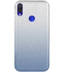 "Dėklas ""Shine"" Xiaomi Redmi Note 7/Note 7 Pro mėlynas"