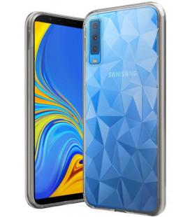 Dėklas Prism Samsung A750 A7 2018 skaidrus