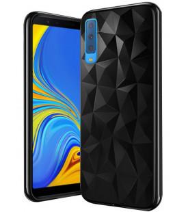 Dėklas Prism Samsung A750 A7 2018 juodas