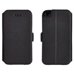 """Juodas atverčiamas dėklas Samsung Galaxy J5 telefonui """"Telone Book Pocket"""""""