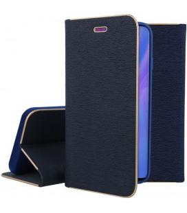 """Mėlynas atverčiamas dėklas su rėmeliu Huawei P30 Pro telefonui """"Book Vennus Z"""""""