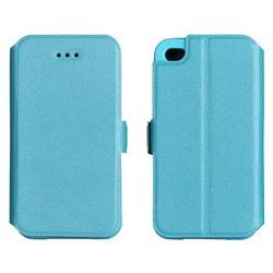 """Mėlynas atverčiamas dėklas Samsung Galaxy S6 Edge+ telefonui """"Telone Book Pocket"""""""