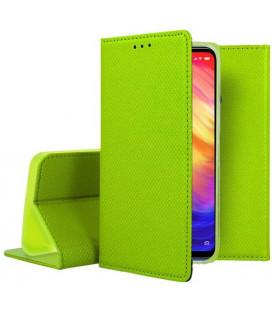 """Žalias atverčiamas dėklas Xiaomi Redmi 7 telefonui """"Smart Book Magnet"""""""