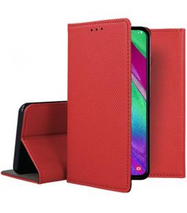 """Dėklas """"Smart Magnet"""" Samsung A405 A40 raudonas"""