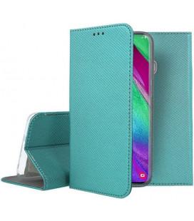 """Dėklas """"Smart Magnet"""" Samsung A405 A40 smaragdinis"""