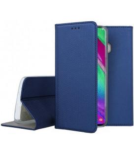 """Dėklas """"Smart Magnet"""" Samsung A405 A40 tamsiai mėlynas"""