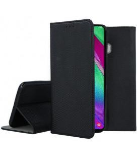 """Dėklas """"Smart Magnet"""" Samsung A405 A40 juodas"""