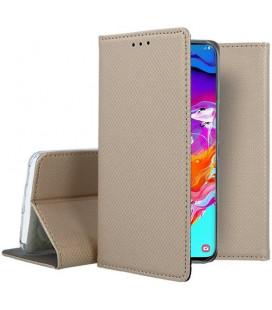 "Dėklas ""Smart Magnet"" Samsung A705 A70 auksinis"