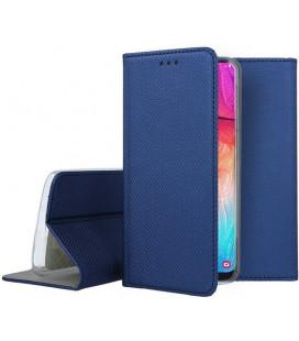 """Dėklas """"Smart Magnet"""" Samsung A505 A50 tamsiai mėlynas"""