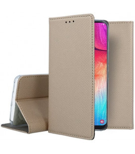 "Dėklas ""Smart Magnet"" Samsung A505 A50 auksinis"