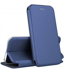 """Dėklas """"Book Elegance"""" Samsung A405 A40 tamsiai mėlynas"""
