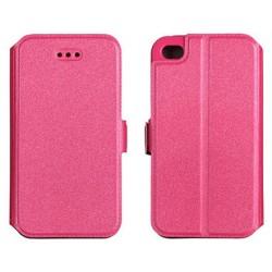 """Rožinis atverčiamas dėklas Samsung Galaxy Grand Prime telefonui """"Telone Book Pocket"""""""