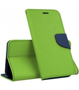 """Žalias atverčiamas dėklas Samsung Galaxy A8 2018 telefonui """"Telone Fancy"""""""