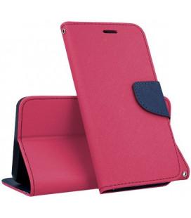 """Rožinis atverčiamas dėklas Samsung Galaxy A3 2017 A320F telefonui """"Telone Fancy"""""""
