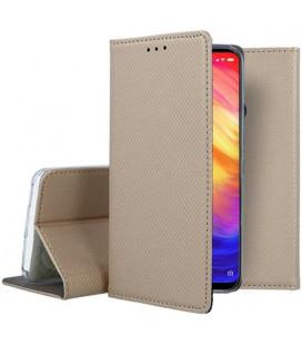 """Dėklas """"Smart Magnet"""" Xiaomi Redmi Note 7 auksinis"""