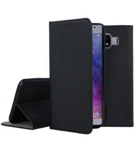 """Dėklas """"Smart Magnet"""" Samsung J400 J4 2018 juodas"""