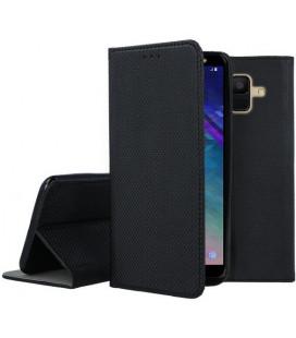 """Dėklas """"Smart Magnet"""" Samsung A600 A6 2018 juodas"""