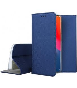 """Mėlynas atverčiamas dėklas Xiaomi Mi9 telefonui """"Smart Book Magnet"""""""