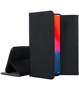 """Juodas atverčiamas dėklas Xiaomi Mi9 telefonui """"Smart Book Magnet"""""""