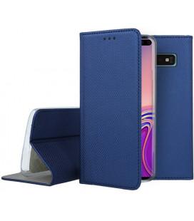 """Mėlynas atverčiamas dėklas Samsung Galaxy S10 Plus telefonui """"Smart Book Magnet"""""""