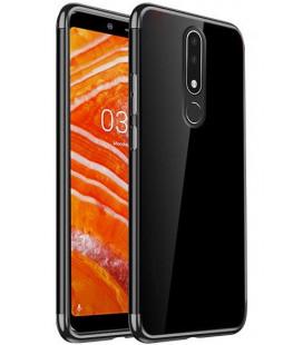 Dėklas Elegance TPU Nokia 3.1 Plus juodas