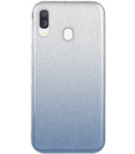 """Dėklas """"Shine"""" Samsung A405 A40 mėlynas"""