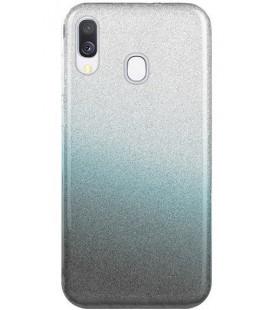 """Dėklas """"Shine"""" Samsung A405 A40 juodas"""