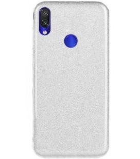 """Dėklas """"Shine"""" Xiaomi Redmi 7 sidabrinis"""