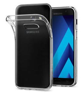 Dėklas Ultra Slim 0,3mm Samsung A320 A3 2017 skaidrus