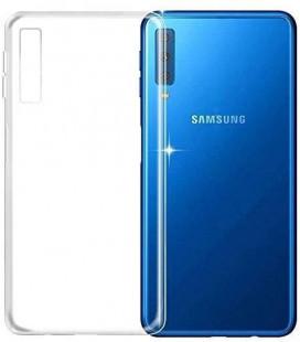 Dėklas Ultra Slim 0,3mm Samsung A750 A7 2018 skaidrus