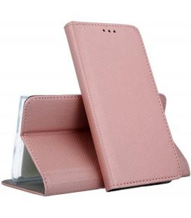 """Dėklas """"Smart Magnet"""" Huawei P Smart 2019/Honor 10 Lite rožinis-auksinis"""