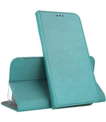 "Dėklas ""Smart Magnet"" Huawei Mate 20 Lite smaragdinis"