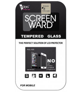"""LCD apsauginis stikliukas """"Adpo 3D"""" Samsung J737 J7 2018 lenktas juodas"""