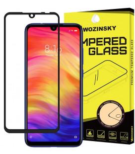 """Juodas apsauginis grūdintas stiklas Xiaomi Redmi 7 telefonui """"Wozinsky Full Glue"""""""