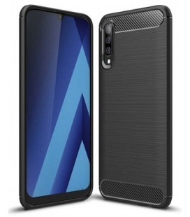"""Juodas dėklas Samsung Galaxy A50 telefonui """"Tech-Protect"""""""