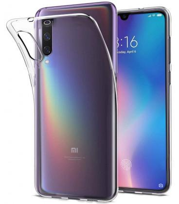 """Skaidrus silikoninis dėklas Xiaomi Mi9 telefonui """"Clear"""""""