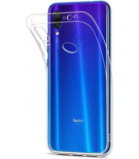 """Skaidrus silikoninis dėklas Xiaomi Redmi 7 telefonui """"Clear"""""""