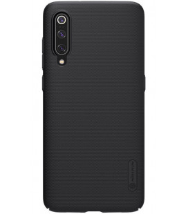 "Juodas dėklas Xiaomi Mi9 telefonui ""Nillkin Frosted Shield"""